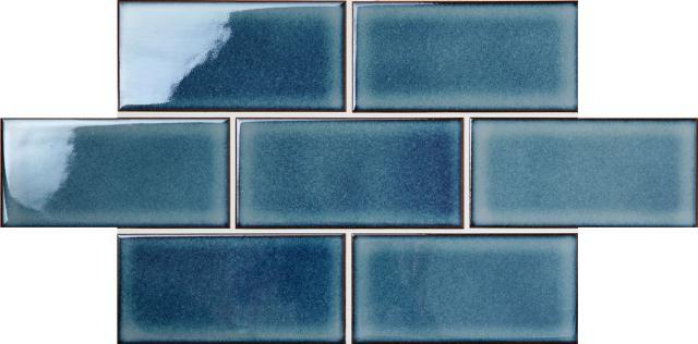 Continental Subway Japanese Porcelain Mosaic